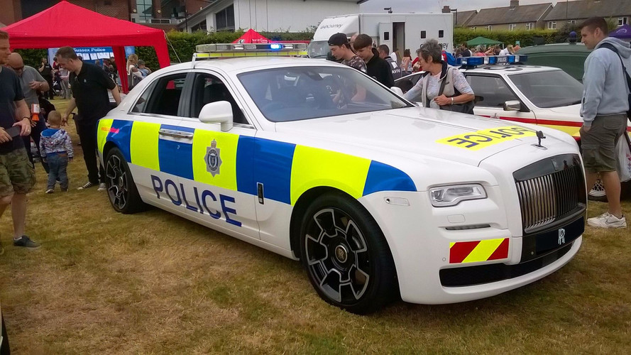 Rolls-Royce Ghost police anglaise