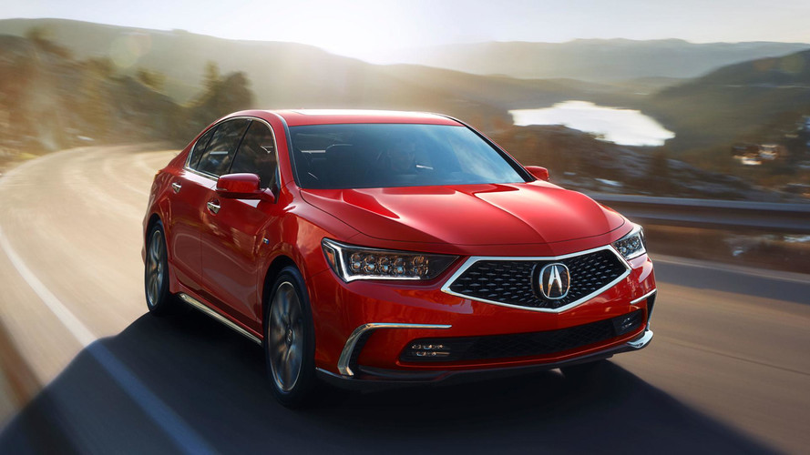 2018 Acura RLX Revealed Ahead Of Monterey Debut
