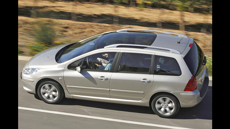 Peugeot-Business-Line: 307- und 407-SW-Sondermodelle