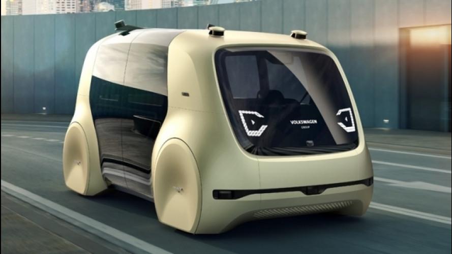 Volkswagen Sedric Concept, il volto amico della guida autonoma
