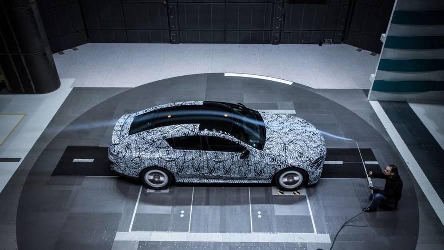 Mercedes Teases Four-Door GT Coupe Ahead Of Geneva Debut [UPDATE]