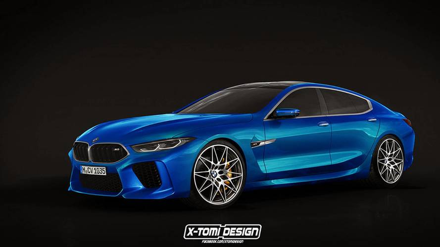 BMW M8 Gran Coupé, así podría ser la versión de serie
