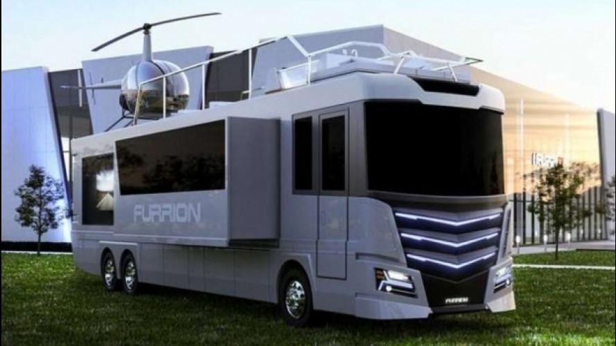 Furrion Elysium, il camper extra-lusso da 3 milioni di dollari [VIDEO]