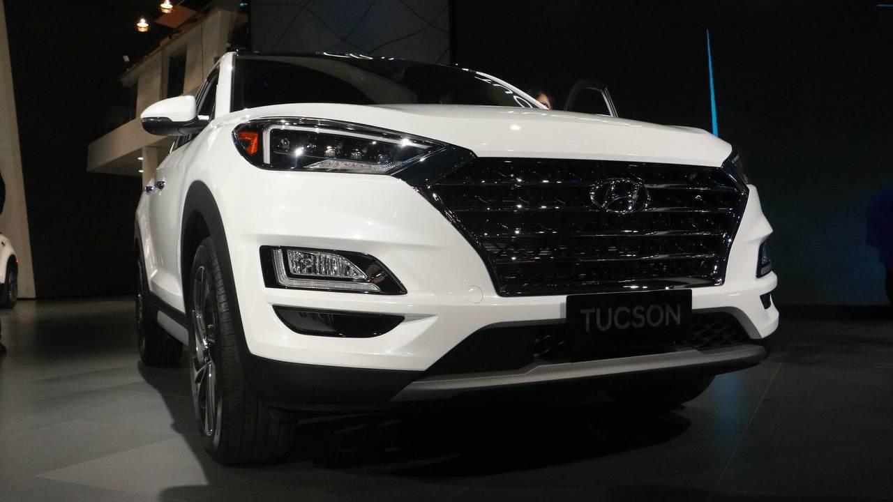 Hyundai Tucson Facelift 2018 >> 2019 Hyundai Tucson at the 2018 New York Auto Show photo