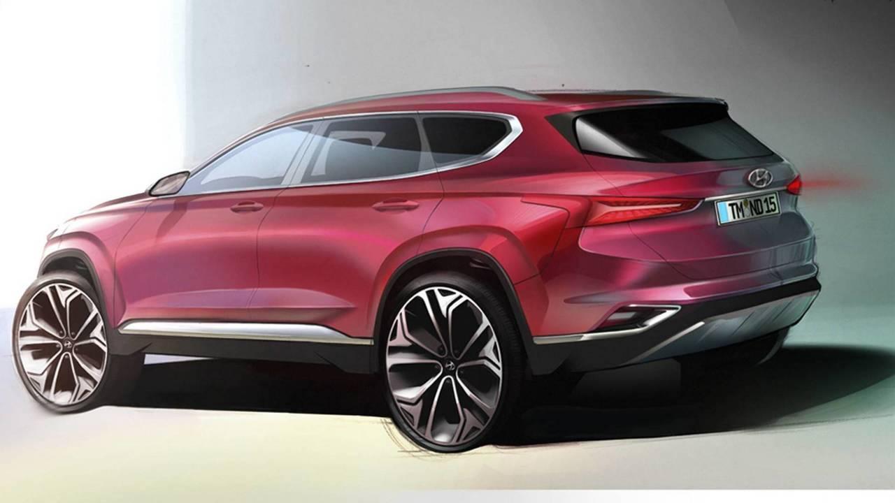Hyundai Santa Fe 2018, teaser
