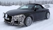 2018 Audi TT refresh spy shots