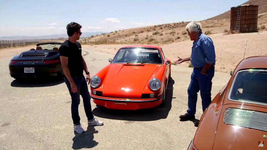 Jay Leno, Patrick Dempsey hoon a classic Porsche 911 RS
