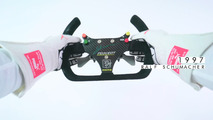 The evolution of the F1 steering wheel