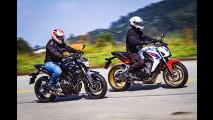 Esta é a Yamaha MT-07 que será pilotada por brasileiro na Pikes Peak 2016