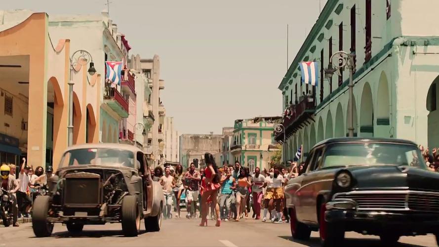 Fast 8'in yeni fragmanında Küba'dan izler var
