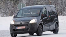 Mulet du Citroën Berlingo 2018 en photos espion