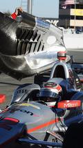 Will Power, Team Penske Chevrolet in mechanical trouble