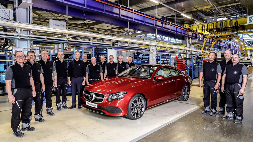 Mercedes E-Class Coupe production gets rolling in Bremen