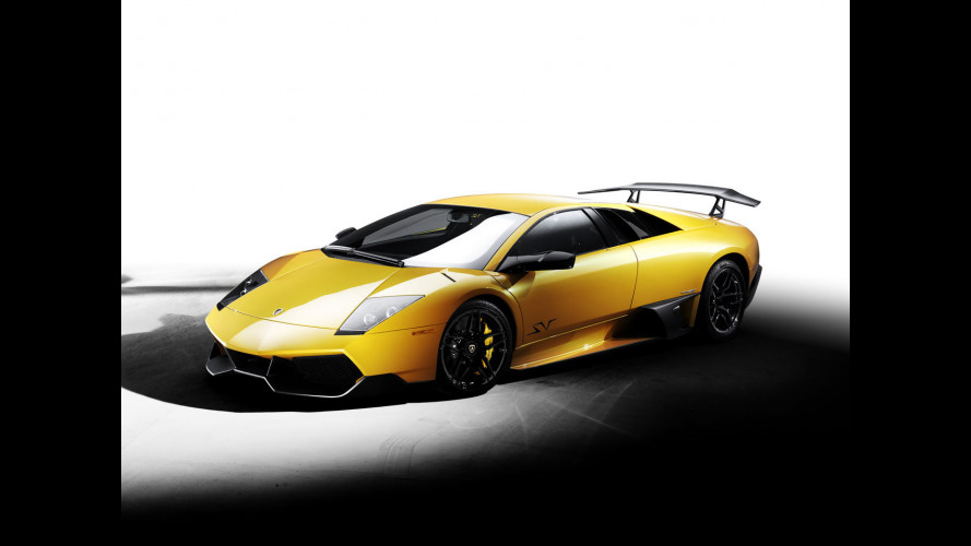 Lamborghini Murciélago a quota 4.000