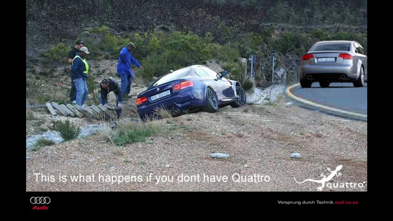 Spot sudafricano: Audi RS4 vs BMW M3