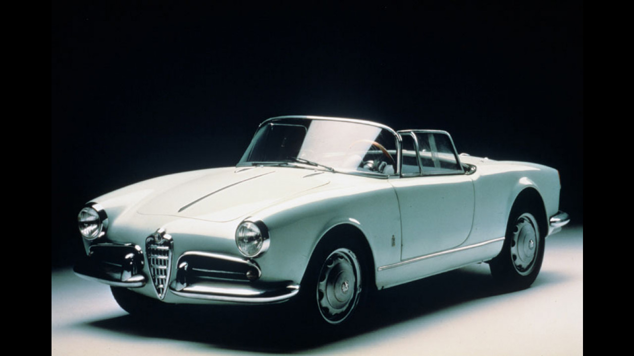 Alfa Romeo Giulietta Spider (1955-1962)