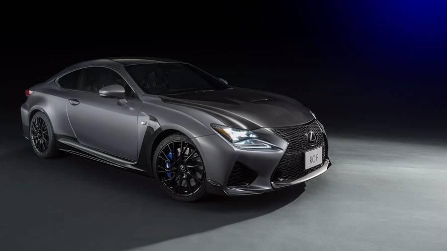 Deux séries limitées pour les Lexus RC F et GS F