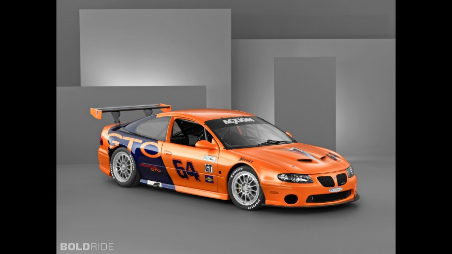 Pontiac GTO Grand Am Series Race Car