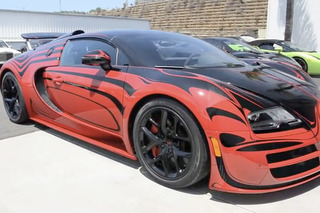 Watch this Stunning Bugatti Veyron L'Or Get Delivered [Video]