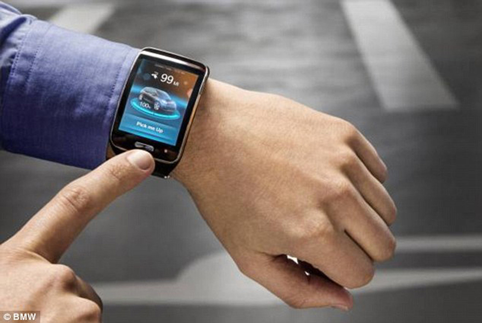 Have a Smartwatch? Park Your BMW With it