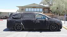 2017 Honda Odyssey spy photo