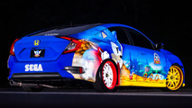 2016 Honda Civic Sonic the Hedgehog Özel Versiyonu