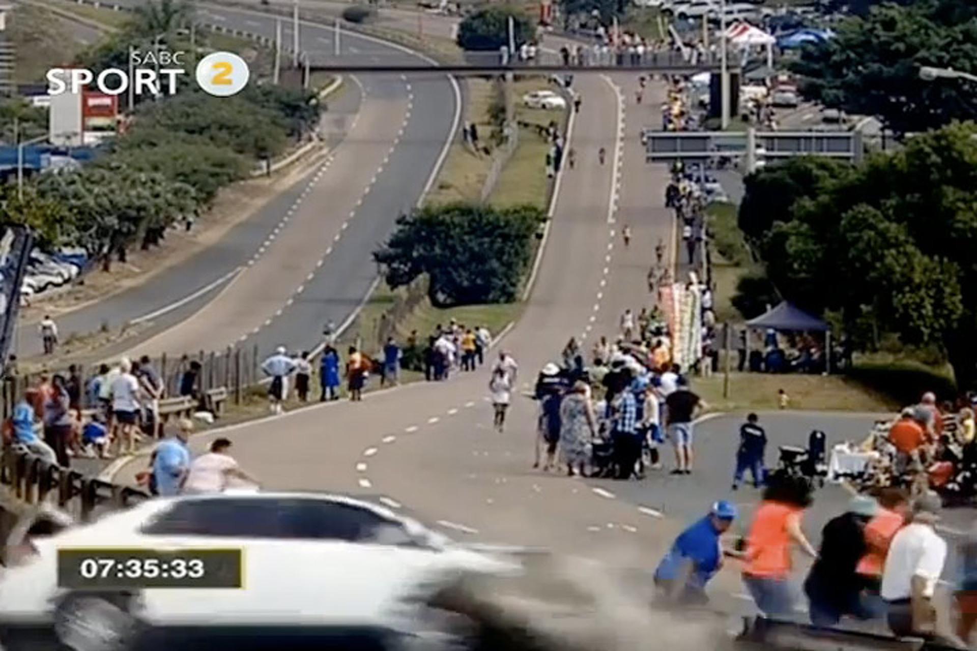 A Car Made a Surprise Appearance During an Ultramarathon
