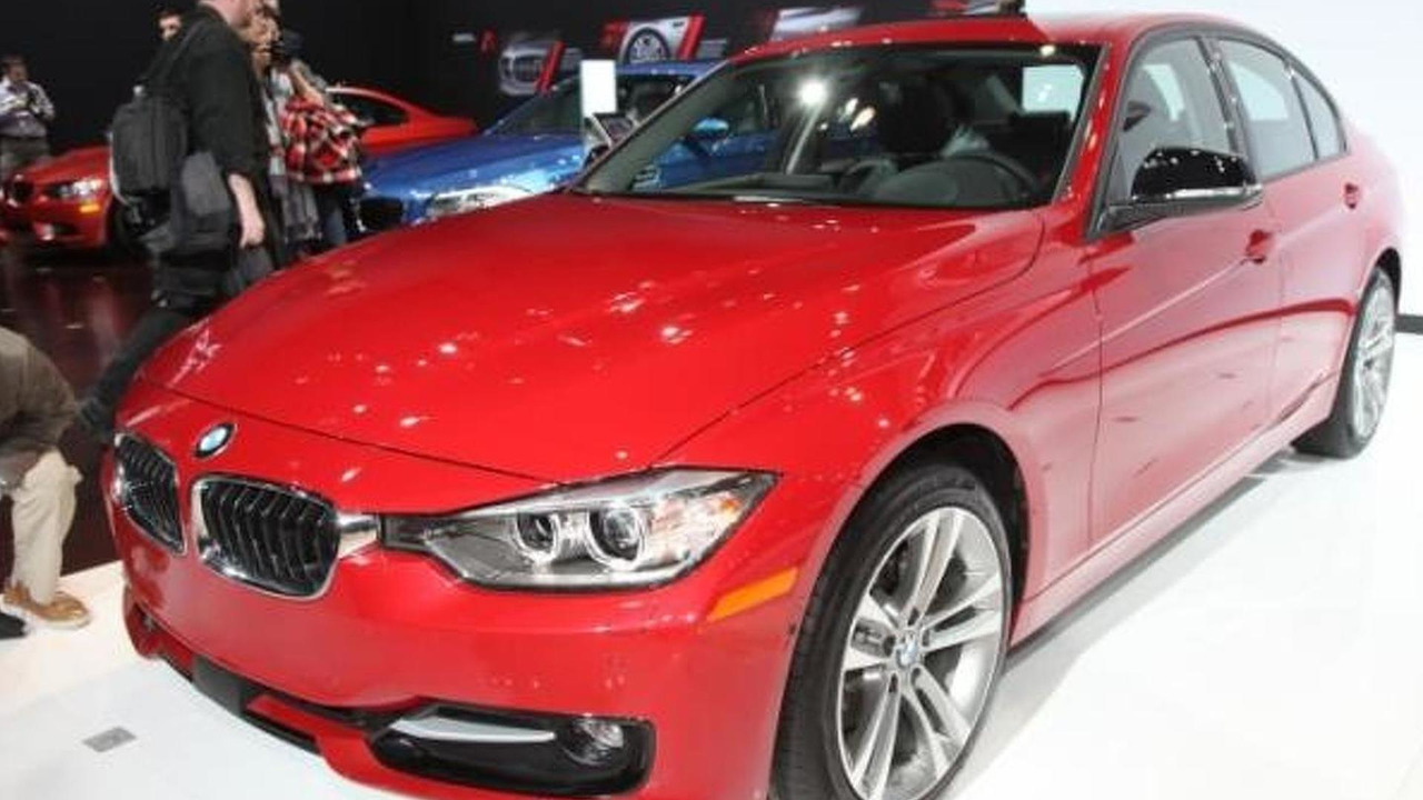 BMW 328d at 2013 New York Auto Show