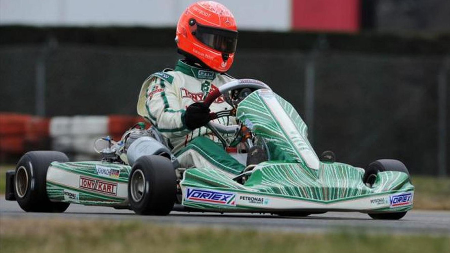 Michael Schumacher to race karts in 2013