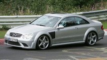 Mercedes CLK 63 AMG Black Series Spy Photo