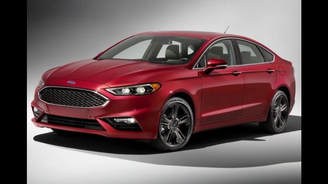 Ford Fusion Sport de 325 cv é lançado nos EUA por US$ 34.450