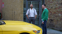 Ford and Tinder organize blind dates in a Mustang