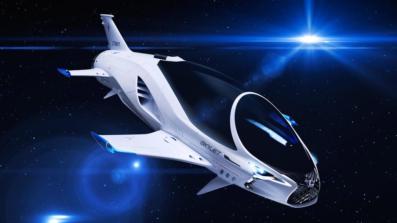 Lexus, bilim kurgu filmi için uzaya çıkıyor