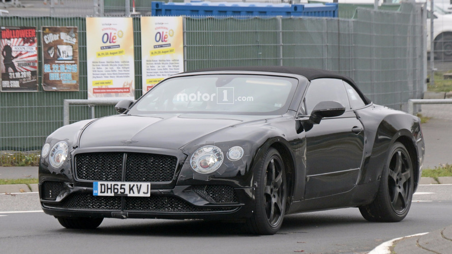 2018 Bentley Continental GT, GTC stalked at the Nurburgring (29 photos)