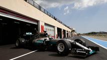 Pascal Wehrlein, Mercedes AMG F1 W06 Hybrid avec des pneus Pirelli 2017