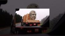 Jeremy Clarkson statue head