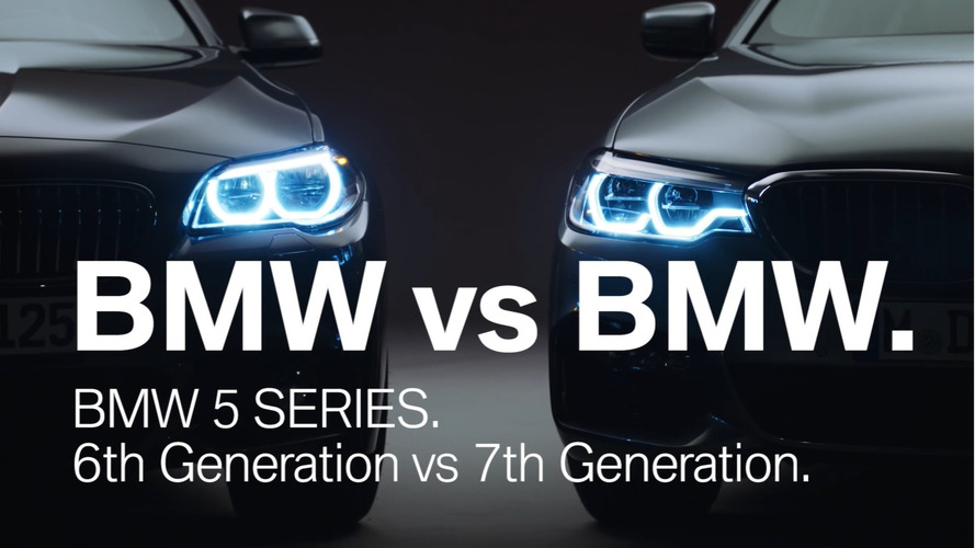 BMW 5 Series G30 and F10 video comparison
