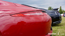 Porsche 911 and Nissan GT-R at 2017 Goodwood Festival of Speed