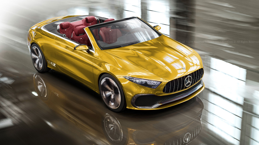 Mercedes Concept A Sedan'a iki kapılı convertible yorumu