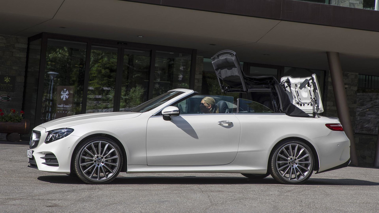 2018 Mercedes Benz E Class Cabriolet First Drive Four