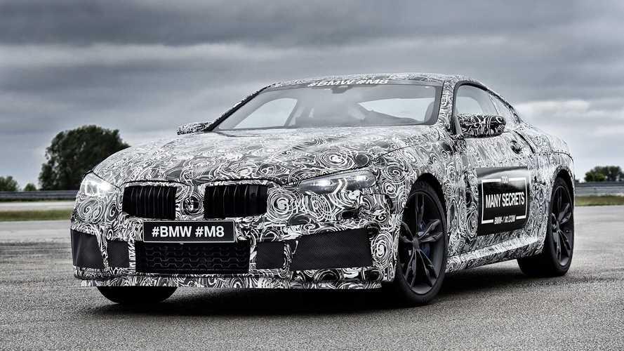 Primeras fotos oficiales del BMW M8 Coupé 2017
