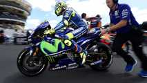 Valentino Rossi sofre acidente de motocross