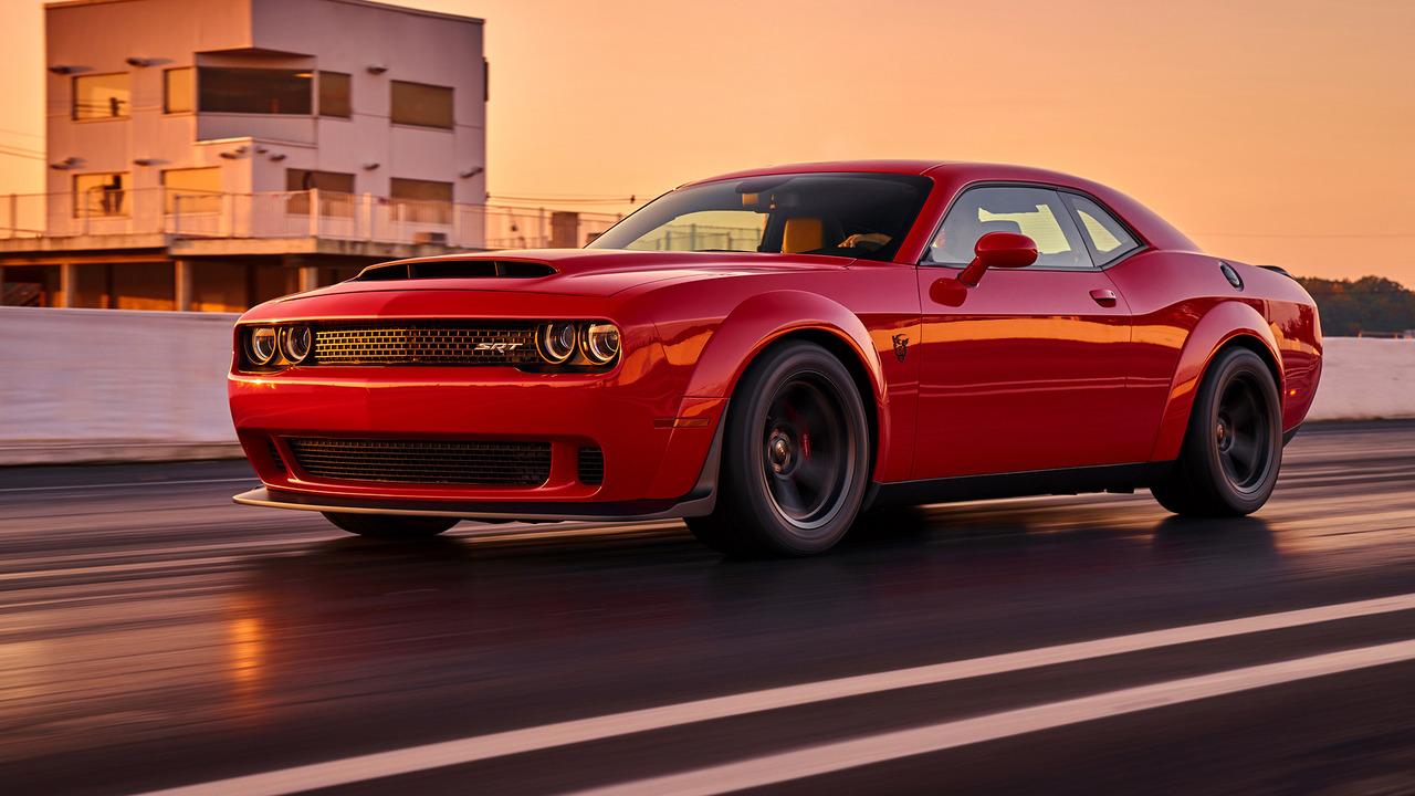 2018 Dodge Challenger Srt Demon Dragster S Dream