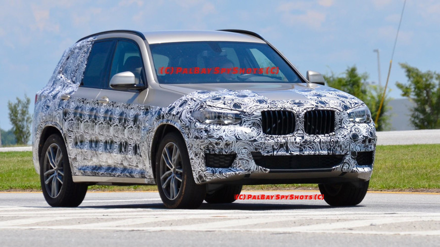 New BMW X3 Spied Possibly One Last Time In United States