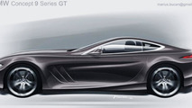 BMW 9-Series GT artist rendering