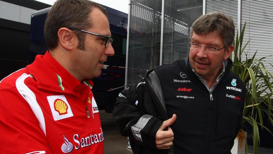 Brawn linked with Ferrari return
