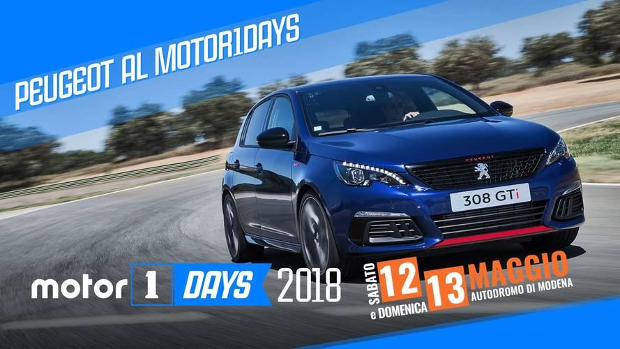 Peugeot tra sport e off road al Motor1Days