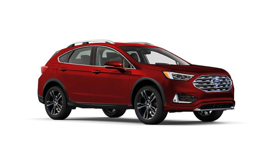 ford fusion envisioned as subaru outback competitor. Black Bedroom Furniture Sets. Home Design Ideas