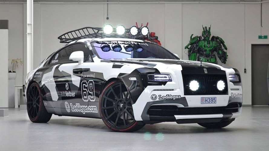 You can buy Jon Olsson's bonkers 810-BHP Rolls-Royce Wraith