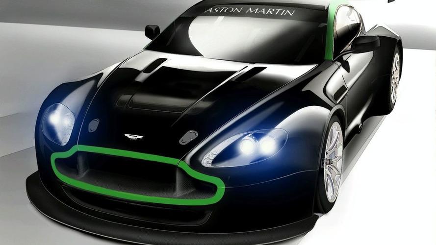 Aston Martin Racing Reveals Vantage GT2 Illustration